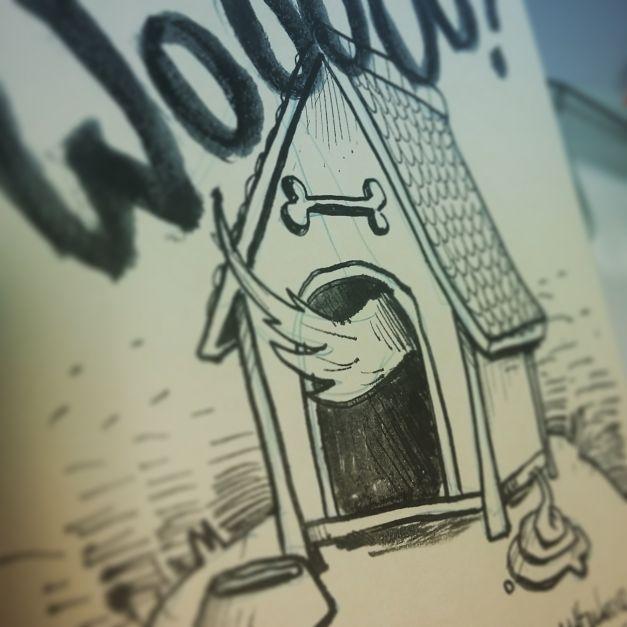 Croquis Drawlloween #07 - Haunted house