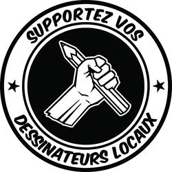 Supportez vos dessinateurs locaux