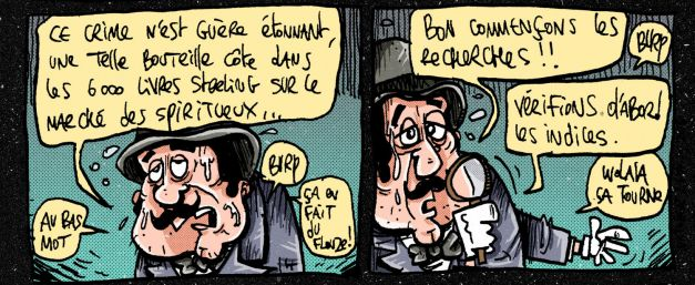 Hercule Poivrot poirot parodie 02