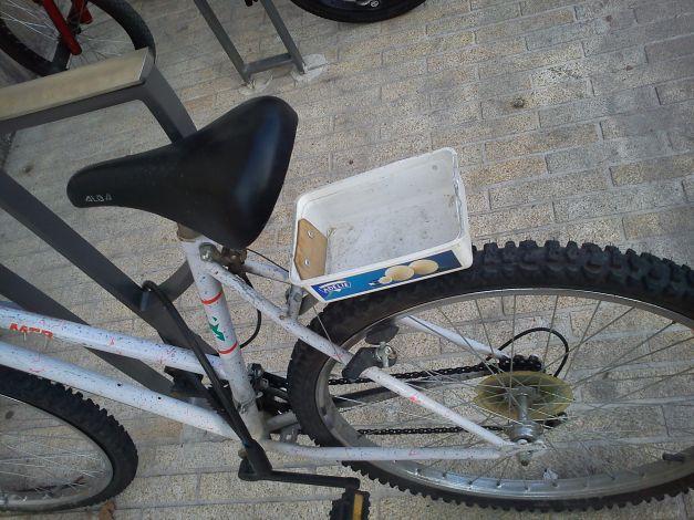 Vélo bac recyclage malin