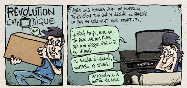 TV connectée smart TV apocalyptique 01