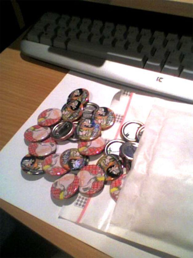 Badges Rackletts finis
